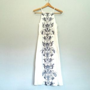 New Maison Jules Cotton Embroidered Dress